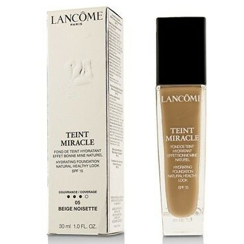 Lancome Teint Miracle Hydrating Foundation Natural - -05 Beige Noisette 30Ml
