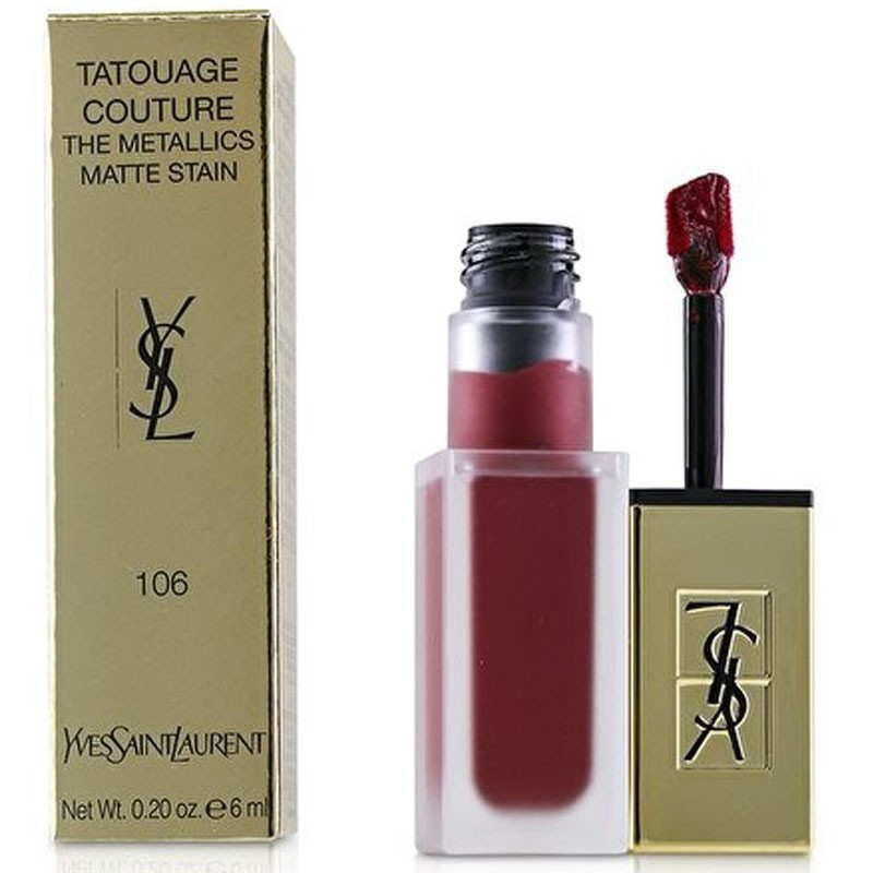Yves St. Laurent Tatouage Couture The Metallics Matte Stain 106 Lipstick 6Ml