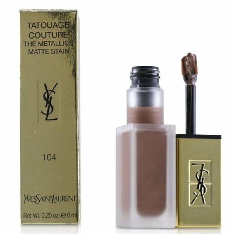 Yves  St. Laurent Tatouage Couture The Metallics Matte Stain 104 Lipstick 6Ml
