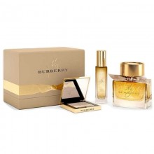 Burberry My Burberry Limited Edition Edp 90Ml+30Ml Body Oil+10G Gold Glow Powder Set