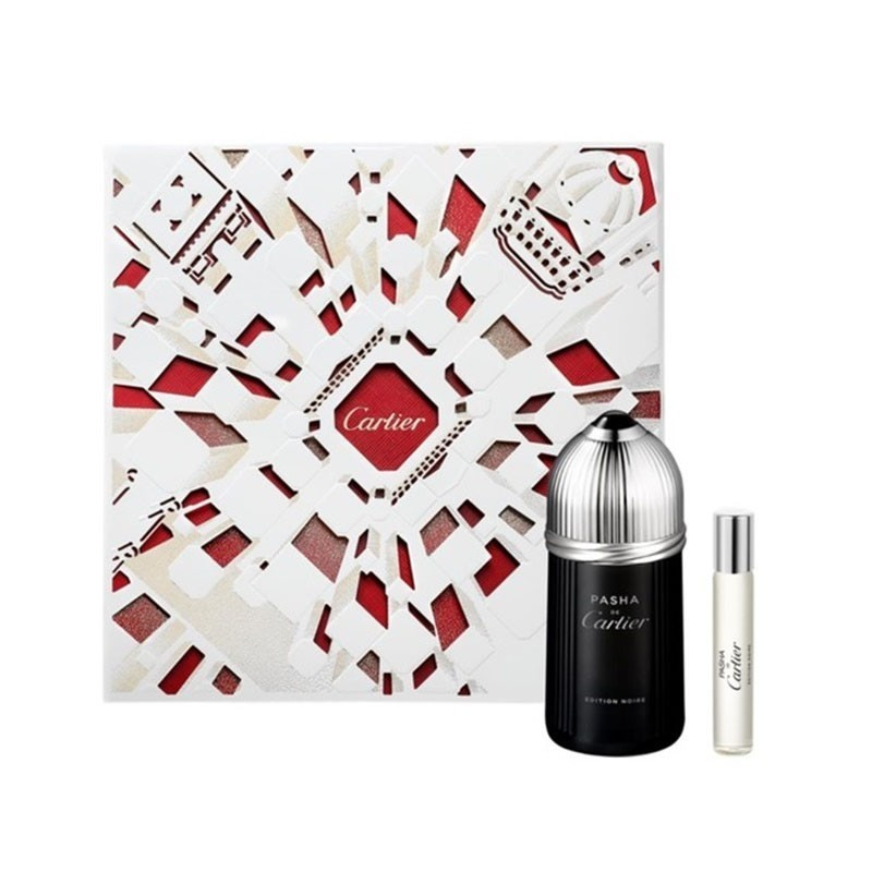 Cartier Pasha Edition Noire (M) Edt 100Ml+9Ml Mini Set