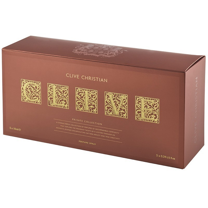 Clive Christian C Green Floral+L Floral Chypre+I Woody Floral+V Fruity Floral+E Green Fougere 5X10Ml