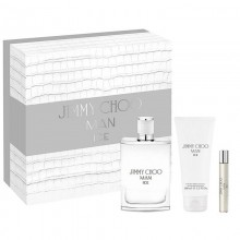 Jimmy Choo Ice M Edt 100 Ml + A.Shv.B 100 Ml + Mini 7.5 Ml Set