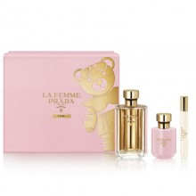 Prada Milano La Femme L'Eau Edt 100Ml+10Ml Roll On+100Ml Bl Set