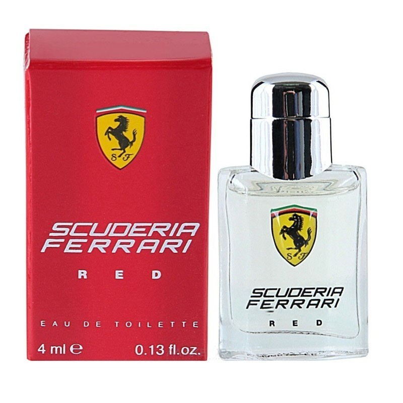 Ferrari Scuderia Red (M) Edt Miniture 4Ml