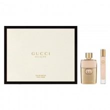 Gucci Guilty Revolution Pour Femme Edp 90ml+7.4ml Roller Ball Set