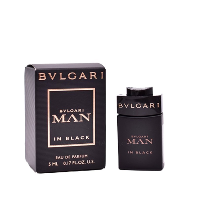 Bvlgari Man In Black Edp Miniture 5ml