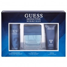 Guess Seductive Blue (M) Edt 100ml+200ml Sg+226ml Body Spray Set