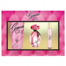Guess Girl Edt 100ml+200ml Bl+15ml Mini Set