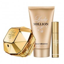 Paco Rabanne Lady Million Edp 80ml+100ml Bl + 10ml Travel Spray
