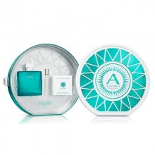 Azzaro Chrome Aqua (M) Edt 100ml+7.5ml Mini+3 Smartphone Lenses Kit Tin Set