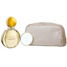 Bvlgari Goldea Edp 90ml+ Beauty Pouch + Beauty Mirror Set