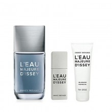 Issey Miyake L'Eau Majeure (M) Edt 100 Ml+Edt 20 Ml+75 Ml Sg Set