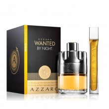 Azzaro Wanted By Night (M) Edp 100ml+15ml Mini Travel Set
