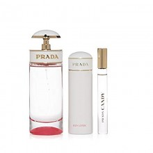 Prada Candy Kiss - Eau de Parfum 80 ml, 3 Pcs Gift Set