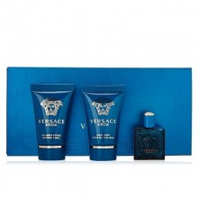 Versace Eros (M) Edt 5 ml+25 ml Sg+25 ml Asb Miniture Set