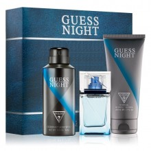 Guess Night (M) Edt 100ml+200ml Sg+226ml Body Spray