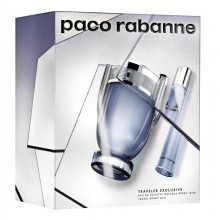 Paco Rabanne Invictus (M)  Edt 100ml+20ml Travel Set