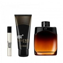 Mont Blanc Legend Night (M) Edp 100ml+7.5ml Mini+100ml Asb Set