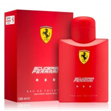 Ferrari Scuderia Red (M) Edt 125ml