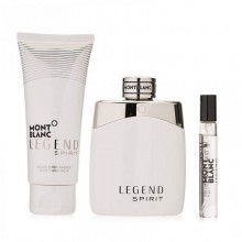 Mont Blanc Legend Spirit (M) Edt 100ml+7.5ml Mini+100ml Asb Set