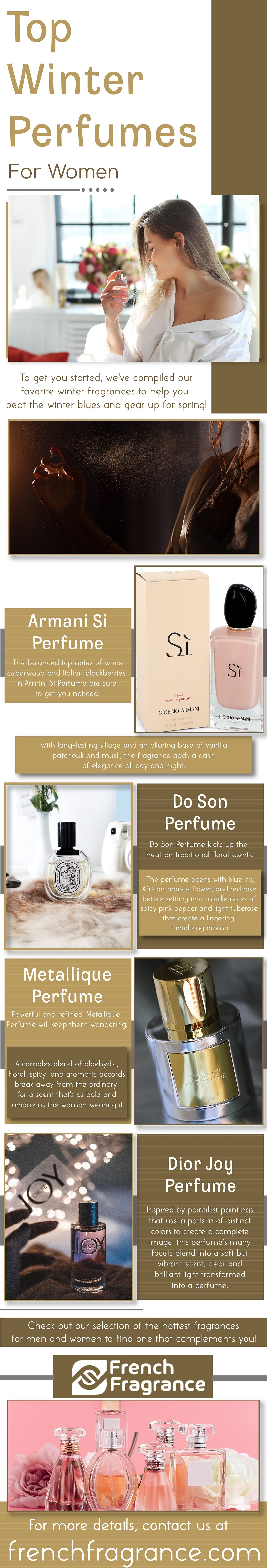 Top Winter Perfumes for Women